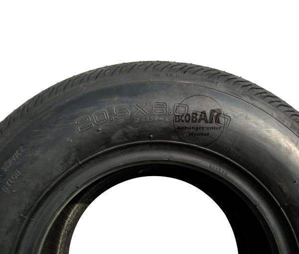20.5x8.00-10 Reifen Index : 98M Kenda oder KingsTire